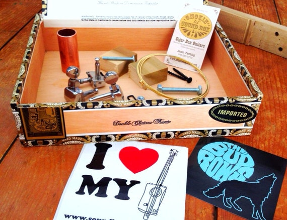Cigar Box Guitar Kit