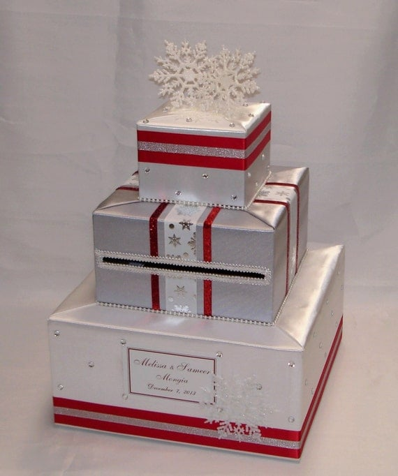 Winter Wedding Gift Card Box : ... Plates Dolls & Miniatures Figurines Music Boxes Postage Stamps