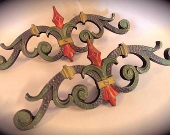 Art Deco Art Nouveau Iron Rod Decoration