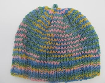 Handknit Hat for Adult/Teens