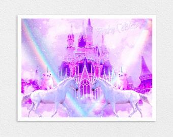 "The Magic Kingdom Poster 8 ""x 10"""