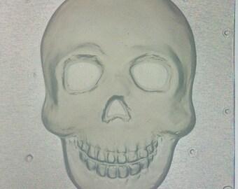 Flexible Resin Mold Skull Mould