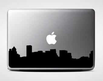Portland Skyline Macbook Decal #1 / Macbook Sticker / Laptop Decal