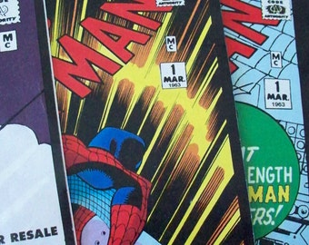 AMAZING SPIDERMAN Comic Hero Character Collectible Series Volume 1-24 Aug 15, 1962 -April 11, 1964 Reissues