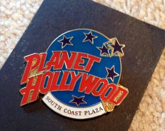 Planet Hollywood Metal Pin South Coast Plaza