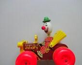 Vintage Original Fisher Price Jalopy Clown Car 1965