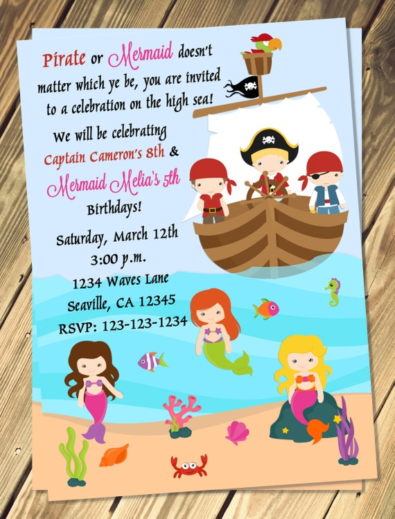 Jake And The Neverland Pirates Birthday Invitation with luxury invitation layout