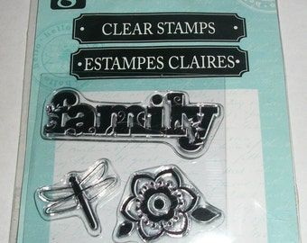 Studio G Family Clear Stamps