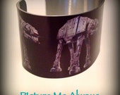Star Wars Inspired ATAT Metal Cuff Bracelet
