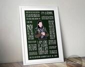 Loki poster (Made to order)