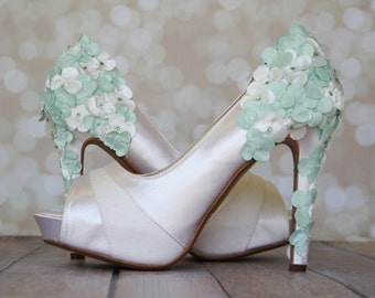 Stunning Mint Green Shoes For Wedding Images - Styles & Ideas 2018 ...