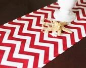 Christmas Table Runner Table Cloth Wedding Runner Buffet Premier Prints Chevron Zig Zag Runner Red Wedding Runner