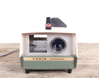 Vintage Slide Projector / 35mm Slide Projector / Antique Slide Projector / Cabin Automat Slide Projector - Cabin Projector / Old Projector