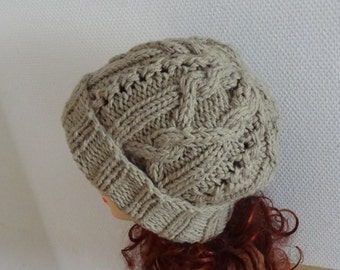 Knit Cable Hat,  winter hat , Boy Hat, Hand knit cable hat Knit women Girl hats BOY Men hat Fall Winter Accessories Autumn Fashion ANY COLOR