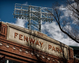 Fenway Park, Boston Red Sox, 8x12,11x17, 13x19, 16x24 photography, man cave art, sports, baseball