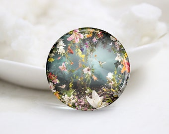 10mm 12mm 14mm 16mm 18mm 20mm 25mm 30mm Handmade Round Photo Glass Cabochons Cover (P1299)