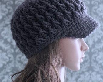 Crochet PATTERN - Newsboy Hat Crochet Pattern - Crochet Hat Pattern - Crochet Pattern Women - Baby, Toddler, Kids, Adult Sizes - PDF 343
