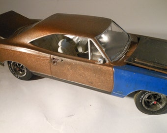 Classicwrecks Scale Model Rusted Wreck Mopar  Plymouth Car