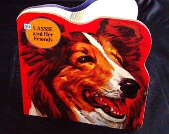 Vintage Children's Book - Lassie and Her Friends - 1977