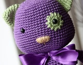 PATTERN - Amigurumi Pattern - Crochet Cat Tutorial - Instant Download - In English