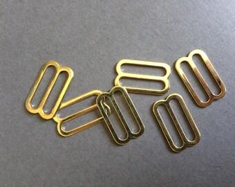 "11/16"" Gold Slides"