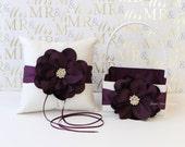 Ring Bearer Pillow & Flower Girl Basket- (Custom Made to Order)