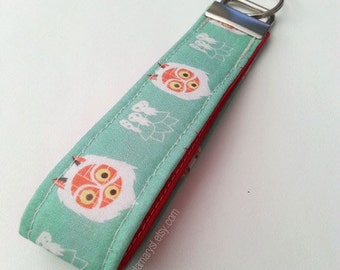 Princess Mononoke Key Chain Wristlet Key Fob (Made to Order)