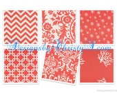 Coral Contour Changing Pad Cover