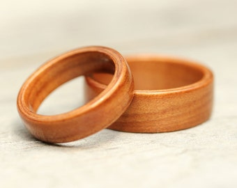 Bentwood Ring Set - Ancient Kauri - Wooden Rings - And We Plant A Tree:)