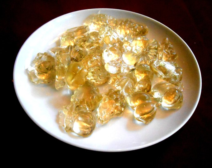 HERBAL CANDY,  Dye Free, Essential Oils, Candy Gems, Shards, Lollipops, All Herbal Flavors