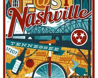 East Nashville Poster