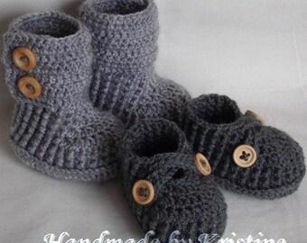 baby booties baby shoes crochet boots crochet shoes crochet booties infant girl knitted baby boy booties crochet baby boots CHOOSE COLOURS