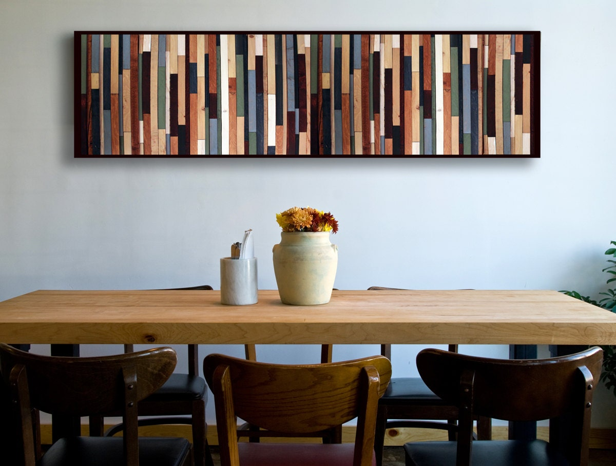 Reclaimed Wood Art Modern Wood Wall Art Modern Wall Art