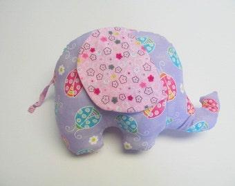 Ladyflower the Stuffed Elephant Plush