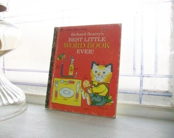 Best Little Word Book Ever Richard Scarry's 1992 Childrens Book