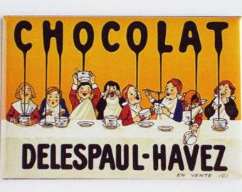 Chocolat Delespaul-Havez Fridge Magnet