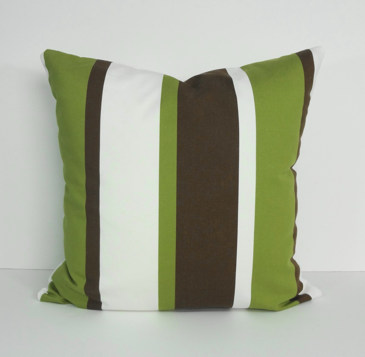 green and brown decovative pillow cover throw pillow cover. Black Bedroom Furniture Sets. Home Design Ideas