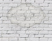 4ft x 3ft Vinyl Photography Backdrop for Accessories, product pictures White Brick