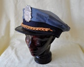 Security Guard Hat/Vintage Burns Security Officer Cap/Halloween Costume