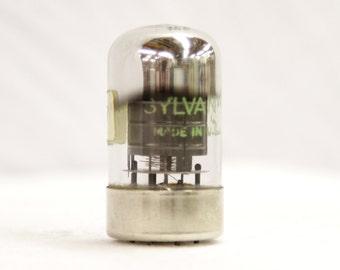 Sylvania 7Q7 Electronic Tube - Vintage 1960's