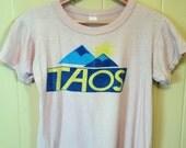 1980s Vintage Taos T / XS - S / Beige