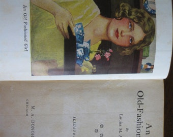 Vintage Book, An Old-Fashioned Girl by Louisa M. Alcott
