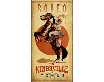 Rodeo Cowgirl, Kingsville, Texas