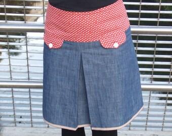JESSA Denim Skirt