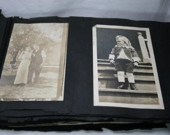Vintage Photo Album - Photographs- Travel Pictures- Family Pictures
