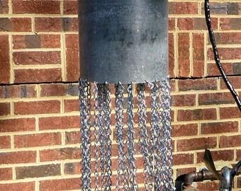 Scuba diver diving tank bell yard art