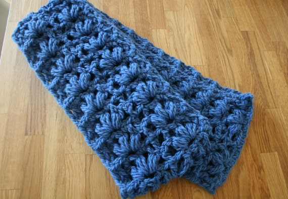 Crochet Xxl Patterns : Crochet pattern, Scarf crochet pattern, super chunky lace scarf XXL ...