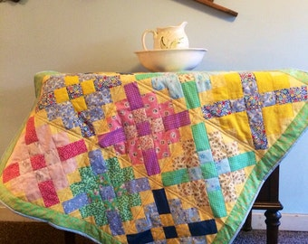 Baby Toddler Quilt. 1930's Style