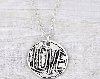 All You Need is Love Necklace - Love Necklace - Inspirational Jewelry - N511