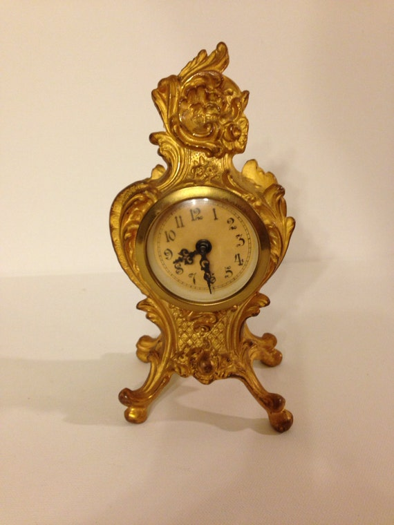 Vintage Mercedes Clock Made In Germany By Sweetserendipityvint